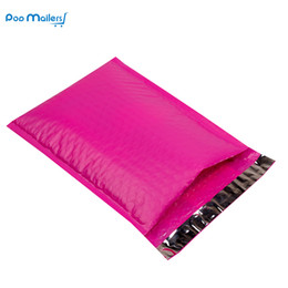 Wholesale Pink Poly Mailers - Wholesale- 8.5x11inch 235*280mm Poly Bubble Mailer Pink Self Seal Padded Envelopes Pack of 10