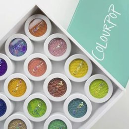 Wholesale Natural Shocks - 2016 New Colourpop Super Shock Shadows Multi-colors Single Piece 24 different colors Eye Shadow makeup eyeshadow dhl free shipping