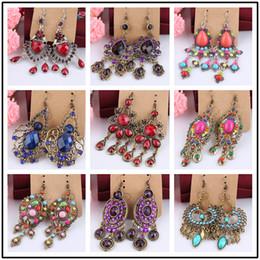 lampadari di ananas Sconti Stili misti di alta qualità vintage orecchini per le donne magnete grande moda orecchini lampadari orecchini druzy orecchini a cerchio orecchini ad anelli gioielli
