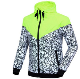 Wholesale thin summer sweaters - Kanye west  sports jacket male spring and summer style hooded windbreaker youth sports jacket thin section leisure sweater