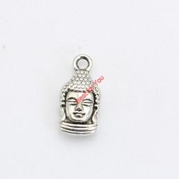 2019 buddha schmuck machen 30 stücke Antikes Silber Überzogene Buddha Charms Anhänger Armbänder Halskette Schmuckherstellung Zubehör DIY 17x19mm günstig buddha schmuck machen