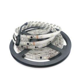 2019 ws2811 tira impermeable 12v Edison2011 SMD 5050 30leds tiras de LED IP65 a prueba de agua DC12V WS2811 RGB cambio automático de tira llevada tiras flexibles de LED lámpara suave de bricolaje rebajas ws2811 tira impermeable 12v