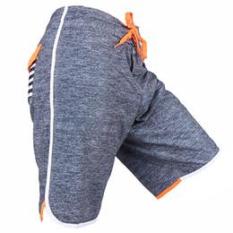 Wholesale Swimming Swimwear Swimsuit Shorts - Swimwear Men Stretch Boardshorts Spandex Quick Dry Board Shorts Bermuda Swimming Trunks Surf Beach Short Pants Swimsuit