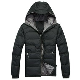 Wholesale White Hooded Winter Coat - The best-selling men DOWN winter down jacket north Polartec Jacket Male Sports Windproof Waterproof Breathable Outdoor face Coats 021