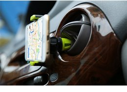 Wholesale Iphone Car Vent Cradle - New Arrival Portable Kenu Air Vent Car Mount cradle Phone Universal Car Holder Stand For iPhone 6 6s htc lg sony Samsung s6 edge Plus