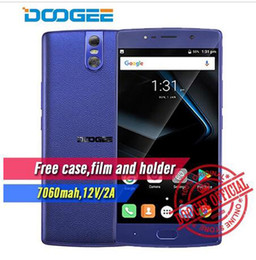 Wholesale Smartphone Fhd - DOOGEE BL7000 Android 7.0 7060mAh 12V2A Quick Charge 5.5'' FHD MTK6750T Octa Core 4GB RAM 64GB ROM Smartphone tri 13.0MP Camera