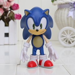 """Wholesale Sonic Pvc - 4"""" Approx Cute Sonic the Hedgehog Nendoroid Series Packed in Boxed PVC Action Figure Toy"""