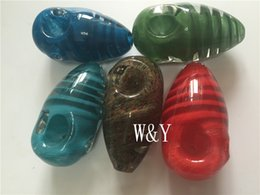 Wholesale Cheap Lab Glass - custom Beautiful small heady labs colorful glass animal insect pipe for smoking cheap Egg pipe free shipping