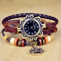 Wholesale Liberty Round - Free shipping Infinity Watch Fashion Bracelet WatchesMs antique watch The crown of the statue of liberty manufacturers selling wholesale