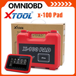 Wholesale Bmw Key Pad - Original XTOOL X100 PAD Same as X300 Plus Auto Key Programmer Special Function Update Online Odometer correction x-100 Pad pro Free Shipping