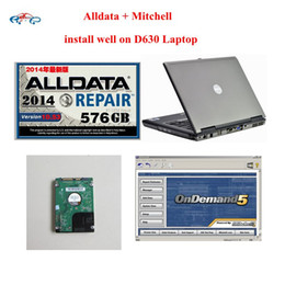 Wholesale Car Wells - Newest Car Repair Software with Laptop Alldata 10.53 + Mitchell on demand 2015 installed well on D630 Laptop support win7