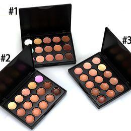 Wholesale Block Logos - 2016 Makeup Face Concealer Professional MINI 15 colors Concealer platte no box without logo