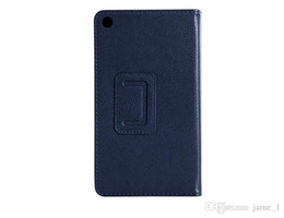 Wholesale Tablet Pc Holster - Folding Folio PU Leather case for Lenovo a7-30TC a7-30HC 7 inch tablet PC Tab 2 A7-30 holster stand cover Magnetic bag