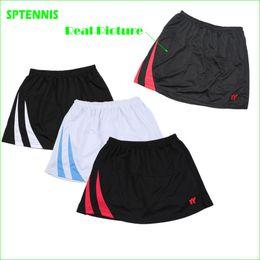 Wholesale Sports Skirt Tennis - Wholesale- Woman Mesh Polyester Table Tennis Skirt Badminton Tennis Wear Slim Fit Sports Mini Skort