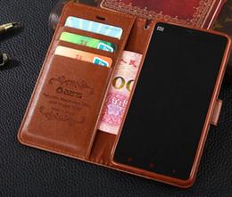 Argentina Nuevo para Xiaomi 4I 4C cubierta de la caja de lujo colorido original Slim Flip Wallet Funda de cuero para Xiaomi MI 4I M4i MI4I 4C cheap xiaomi 4i Suministro