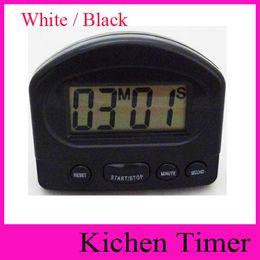 Temporizadores de cuenta regresiva de deportes online-xl-331 Timer Kitchen Cooking 99 Minute LCD digital Reloj despertador Medicación Sport Countdown Calculadores con clip Pad