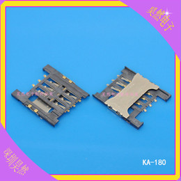 tarjeta sim lenovo Rebajas Al por mayor-30 piezas Original Nueva tarjeta SIM titular de la bandeja soporte titular Para Lenovo A568t A788t K860I K860 Le-PAD A3000-H A5000