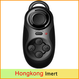 Wholesale Joystick Mouse Wireless - Wireless Bluetooth Gamepad Game Controller Joystick Selfie Remote Shutter Wireless Mouse For PC iPhone IOS Samsung Android