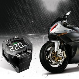 Wholesale Motorcycle Sensor - Steelmate DIY TP-90 TPMS for Motorcycle Tire Pressure Monitoring System with Waterproof External Sensor Wireless LCD Display K2597