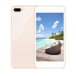 Wholesale Wifi Can - Sealed box Goophone I8 plus smartphone 5.5inch 1G 4G Quad Core MTK6580 Can show fake 4G 128G 4G LTE 3G WCDMA phone