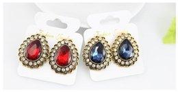 Wholesale Earing Pair - Hot Sales Ear Rings Christmas Earrings for Women Girls Fashion Crystal Earrings Rhinestone 30 Pairs Gift Ideas Wholesale Earing Earring Stud