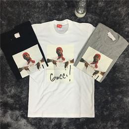 Wholesale Women Shirt Trend - 100% cotton Men and women photo portrait, half sleeve cotton short T trend high quality tide brand cotton short sleeve T-shirt