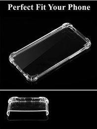 Wholesale Soft Silicone Tpu Gel Case - Clear Slim Case for IPHONE X Ultra-Thin Soft Gel Absorbing Transparent Silicone TPU Bumper Rubber Back Protective Cover FOR IPHONE 7 8