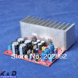 Wholesale Lm1875 Amplifier - Free shipping 1pc lot LM1875+NE5532 Audio Power Amplifier Board +Heatsink heatsink paste heatsink pad heatsink pad