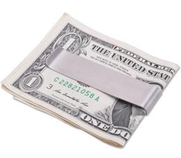 geldhalter clips Rabatt Edelstahl DIY Bargeld Geld Kreditkarte Clip Halter Brieftasche Geld Clips Die Gentleman Lieferungen der alten Stil
