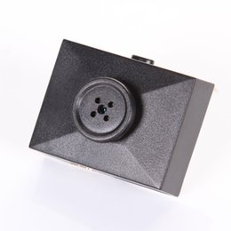 Wholesale Cable Spy Cameras - 2M Cable Long Mini HD Spy Hidden Button Camera DVR Video Recorder Secret Shirt Clothes Cam