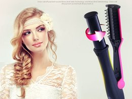 Wholesale Conair Beauty Professional Portable Hair Salon Spiral Curl Ceramic Curling Iron Hair Curler Waver Maker Auto Hair Curler With Steam Spray