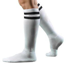 Wholesale Long Striped Socks For Men - Wholesale-Best seller Free Shipping Men Fashion Long Socks Striped Socks High Sock Gift for your Honey Feb7