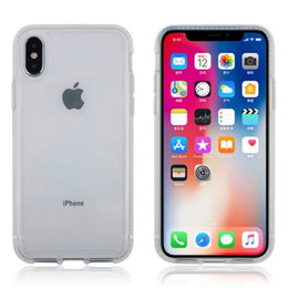 Wholesale Protection Materials - Ultra Thin Bulletshield PURE CLEAR Impact Protection Case for iphone X with TPU+D3O material with retail Package