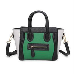 c7d4aacf02 sorriso in pelle Sconti Borsa a tracolla della borsa delle donne della borsa  di cuoio di