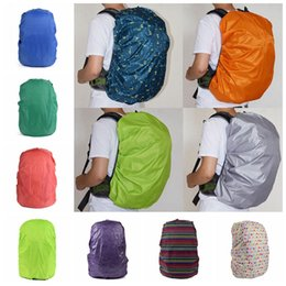 Wholesale Backpack Rain Cover Bag - 33 Colors Practical Waterproof Dust Rain Cover For Travel Camping Backpack Rucksack Bag Outdoor Luggage Bag Raincoats LJJO2976