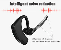 Wholesale Chip Gold - V8 Voyager Business Bluetooth Earphone CSR 8615 Chip Sport Wireless Headset Bass Earbuds Voice control with Micophone 50pcs lot
