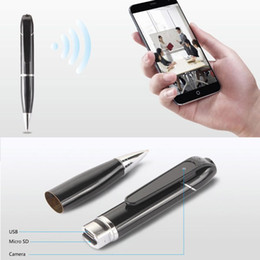 Wholesale Spy Mini Phone - 720P HD WiFi Hidden SPY Camera Security PEN Wireless Video recorder Camcorder Timing DVR IP Camera Mini DV control with cell phone
