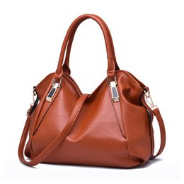 Wholesale Bucket S - The new women 's leisure fashion soft bag female Messenger bag portable shoulder bag