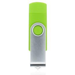 Wholesale Portable Head - HanDisk PVC Double Head Screw USB Flash Drive 32gb 64gb 128gb 16gb 8gb 4gb 2gb Memory Stick Portable Hard Drive Usb Pen Drive EU067