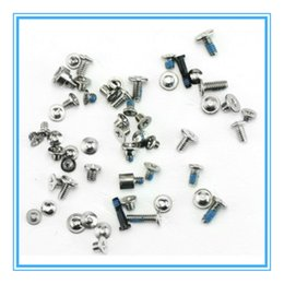 Wholesale Iphone 4s Full Kit - New Full Screw Sets Kit Replacement Screws with two Bottom Pentalobe Screws For iPhone 4 4S 5 5S 5C Repair Parts Free Shipping