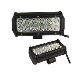 "Wholesale Spot Flood Combo 4wd Led - 7"" inch 36W LED Work Light Lamp for Motorcycle Tractor Boat Off Road 4WD 4x4 Truck SUV ATV Spot Flood 12v 24v"