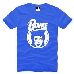 Wholesale David Bowie T Shirt - New Designer Ziggy Stardust Glam Rock T Shirts Men Famous Brand Fashion David Bowie Printed Male Short Sleeve Tshirt Rock Funs T-shirt S-3XL