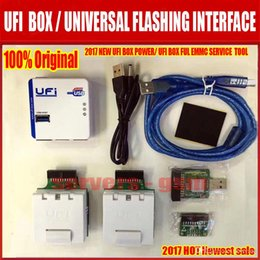 Wholesale Unlocked Services - New version UFi Box powerful EMMC Service Tool can Read EMMC user data,repair,resize,format,erase, read write update firmware on EMMC