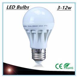Wholesale Cheap 9w Led Lights - Free Shipping High Quality 3W 5W 7W 9W 12W LED Bulbs Energy-Saving Light E27 Base Globe Light Bulb Wholesale Cheap Lightings Lamp 220V-240V