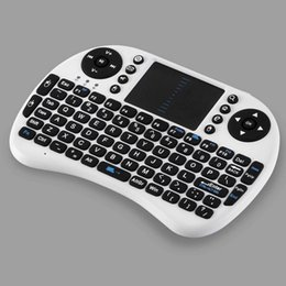 Wholesale Fly Mouse Ipazzport - Free DHL Original iPazzPort Fly Air Mouse 2.4G Mini i8 Wireless Keyboard Mouse Touchpad High Quality For MXQ TV Box