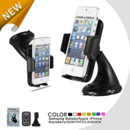 Wholesale Mounting Brackets For Phones - Universal Car Windshield Mount Stand Holder Bracket For iPhone5s 4S Suporte Smart Phone GPS Shockproof Stand Car Holder Cradle