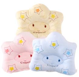 Wholesale Kids Head Pillow - Cartoon Baby Kid Bedding Pillow Newborn Positioner Prevent Flat Head