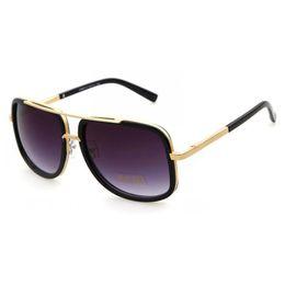 Wholesale Glasses Cycling Luxury - Fashion Women Men Metal Frame Sunglasses Designer Cycling Famous Bans Vintage Lady Men Sports Luxury Sun Glasses Y208