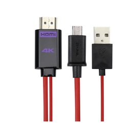 Wholesale Galaxy S3 Cable Tv - 5PIN 11PIN Micro USB MHL to HDMI Cable HDTV HD TV adapter For Samsung Galaxy S5 S3 S4  note 4 2 3