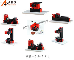 Wholesale Lathe Drilling Milling Machine - 6 in 1 Mini Lathe ,Milling ,Drilling ,Wood Turning ,Jag Saw and Sanding Machine,Mini Combined Machine Tool, DIY Tool